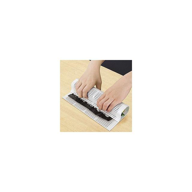Alpexe Natte à Sushi Plastique - Rouler des Sushi en un seul geste