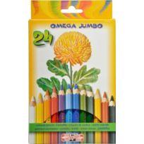 Koh-I-Noor - Jumbo Crayons De Couleur LOT De 24