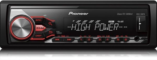 Pioneer Autoradio Mp3 Mvh-280FD