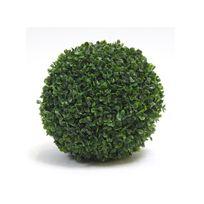 JARDIDECO - Boule de buis artificielle diamètre 40 cm