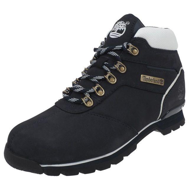Timberland - Chaussures montantes Splitrock navy nubuck Bleu 41258