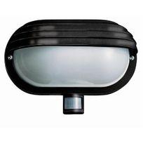 Zublin - Lampe murale d'extérieur Homelite avec détecteur, coloris noir