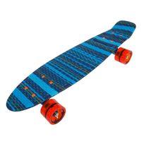 Banzai - Skateboard sk8 22.5 print ray Bleu 13993