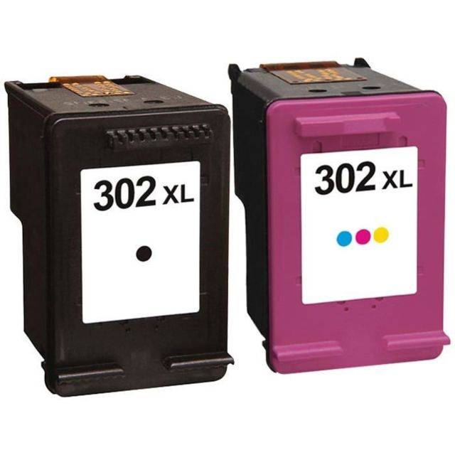 Incredible Pack 2 Cartouches Dencre N0 302 Xl Noir Et Couleur Grande Capacite Pour Imprimante Hp Deskjet 2132 Interior Design Ideas Gentotryabchikinfo