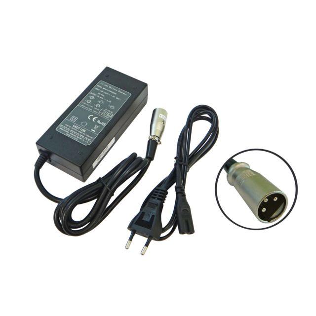 Samsung 24 V Pedelec Batterie Chargeur de batterie Bloc d/'alimentation avec connecteurs coaxiaux pour ruhrwerk