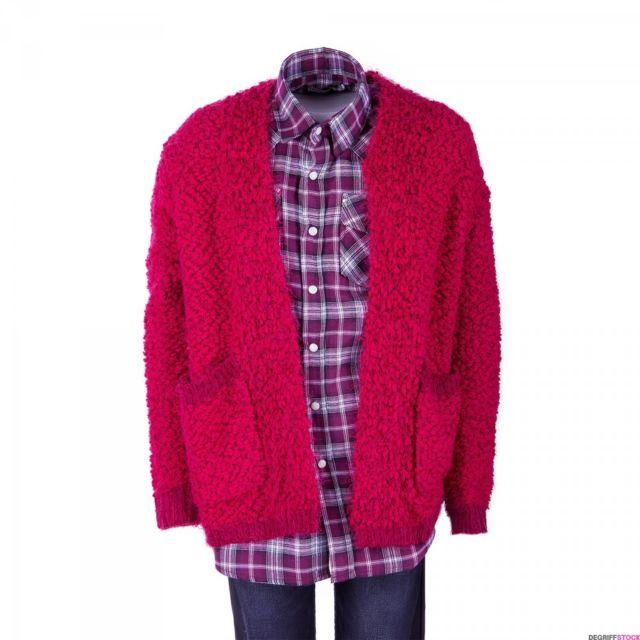 acheter populaire 14060 ba2f4 Gilet doudou rouge fille