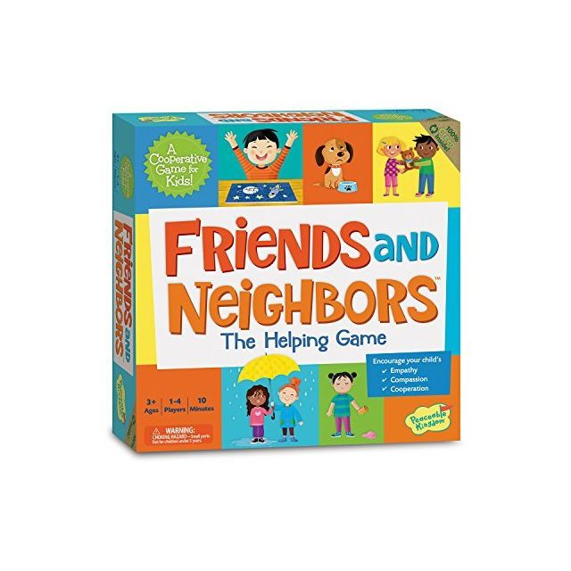 Peaceable Kingdom Friends and Neighbors The Helping Game Emotional Development Cooperative Game for Kids