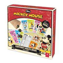 Cartamundi - Coffret Multi-Jeux édition Rétro : Mickey Mouse