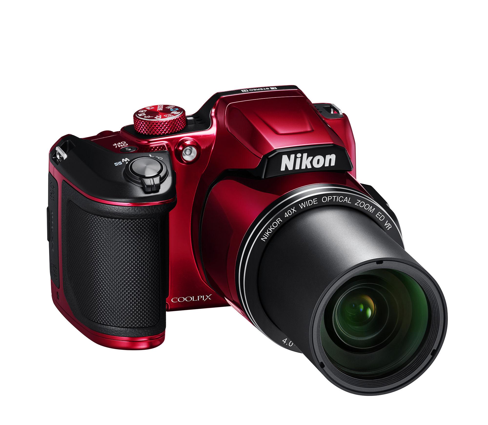 appareil photo bridge rouge - b500