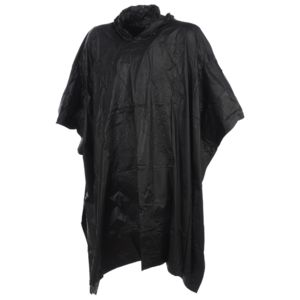 yellowstone poncho cape de pluie pvc poncho noir noir 87409 pas cher achat vente capes de. Black Bedroom Furniture Sets. Home Design Ideas