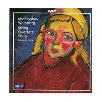 Cpo - Mieczyslaw Weinberg : Quartuors à cordes , Vol. 2 / Quatuor Danel