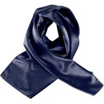67637accb9e DESIGUAL - Pardus Femme Foulard Jaune Multicouleur Tu. 26€99. Foulard femme  satiné - K861 - bleu marine
