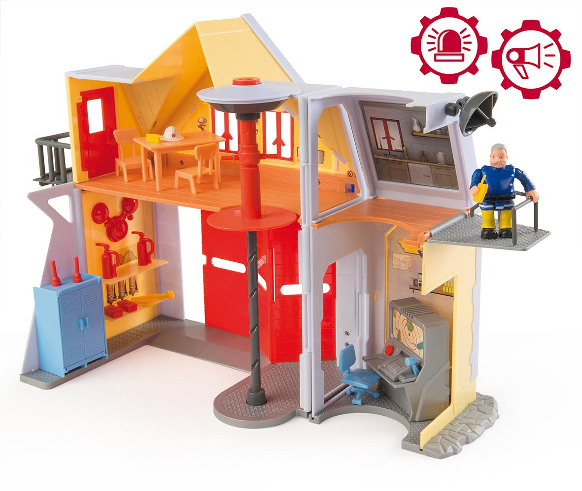 Smoby - 109251062002 - Jeu D'EXPLORATION -: Caserne de pompier
