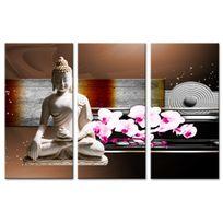 Declina - Tableau sur toile zen à prix bas - Vente tableaux triptyques design