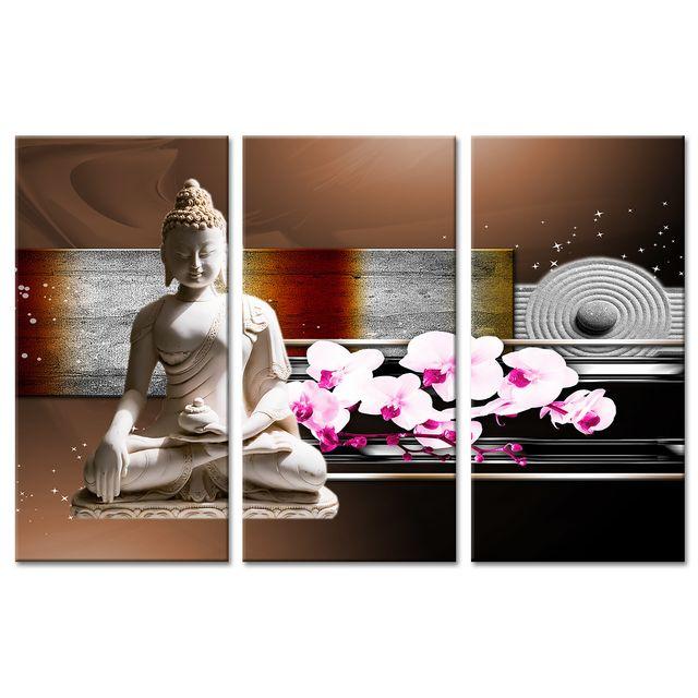 Declina tableau sur toile zen à prix bas vente tableaux triptyques design