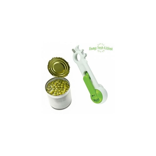 Exclusif Shopping Vip Ouvre-tout Maxi Opener 6 In 1 Poids 0,5 Kg