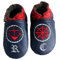 Chaussures en cuir RCC 191 06-01819 Skater Boy Navy 4dpA60zX