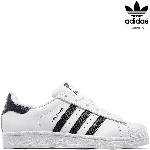 Adidas originals - Superstar Snake Ba9866 blanc / noir scale