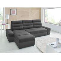 Sofa Story - Canapé d'angle convertible Bimbo Noir