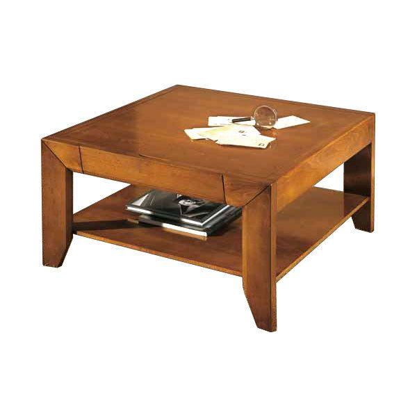 Artigiani Veneti Riuniti Table basse avec tiroir modèle London