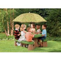 Step 2 - Table de Pique-Nique avec Parasol Enfants