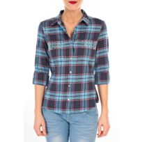 Vero moda - Mew Ls Shirt Tn Wall Bleu