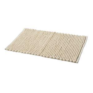 tex home tapis de bain bobble en polycoton beige pas cher achat vente tapis de bain. Black Bedroom Furniture Sets. Home Design Ideas