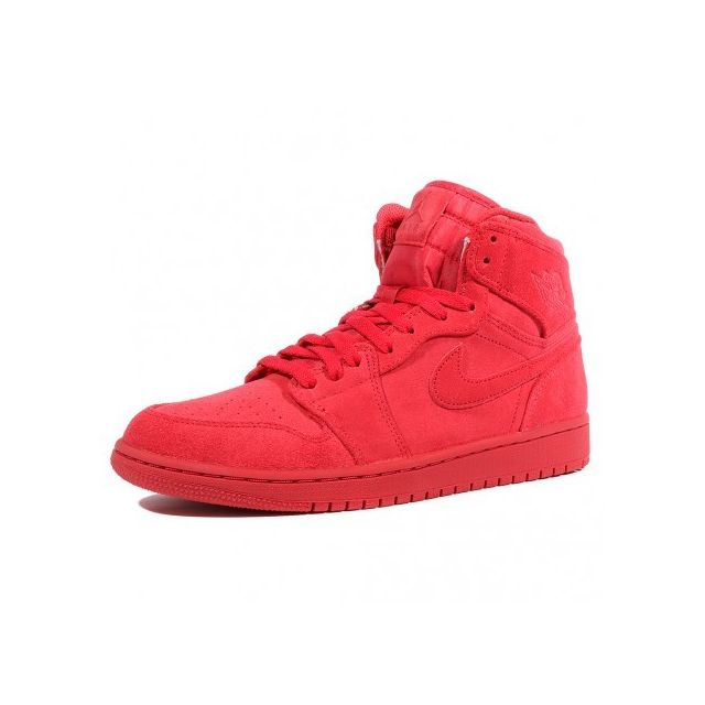 299fc5e97bd Nike - Air Jordan 1 Retro Homme Chaussures Rouge Jordan Multicouleur ...