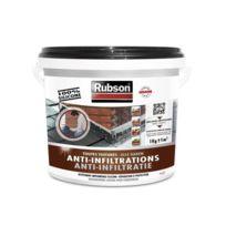 Rubson - Anti-infiltrations Toutes Toitures Noir 1kg