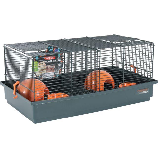 Zolux Cage Indoor 50 Souris Orange
