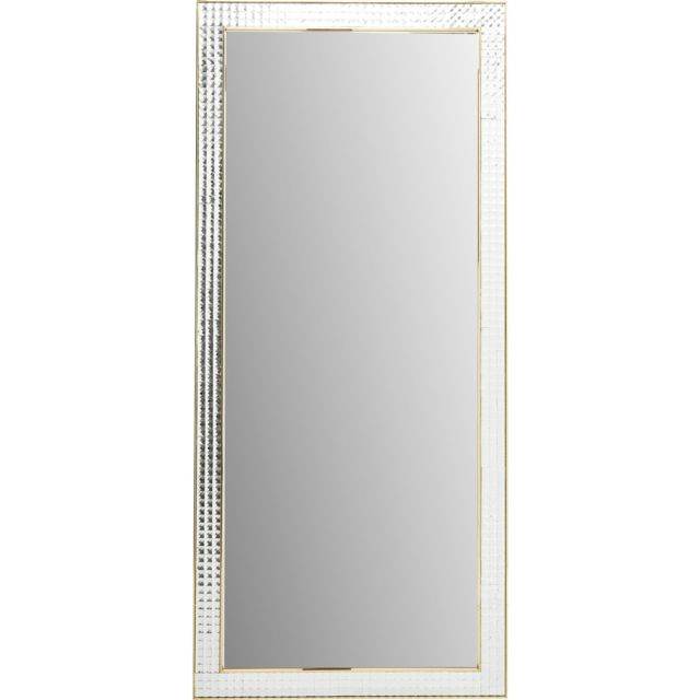 Karedesign Miroir Crystals doré 180x80cm Kare Design