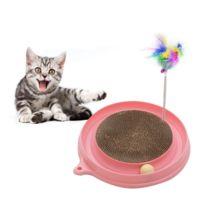 Wewoo - Jouet pour Animaux Plaque d amusement préférée de chat Jouets de  plume de f51aa3b0380d