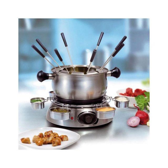 Totalcadeau Ustensile pour fondue en Inox - Set de cuisine
