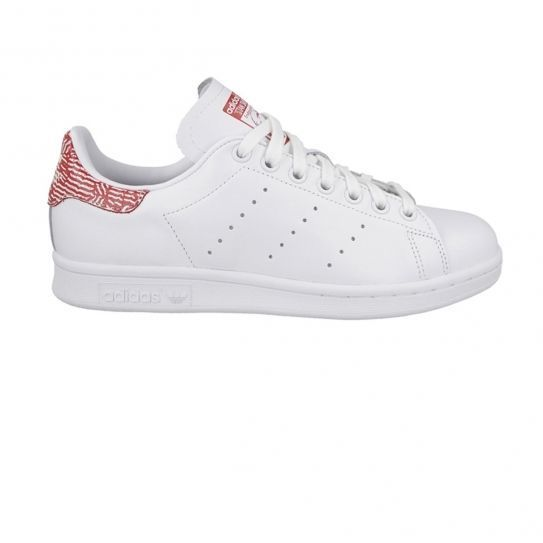 Adidas originals - Chaussures Stan Smith Red Print White/Red W h16 Blanc