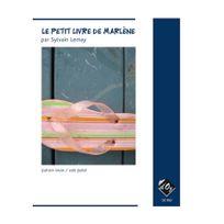 L'OZ Production - Lemay Sylvain -le Petit livre de Marlène, sans Cd partitions pour guitare