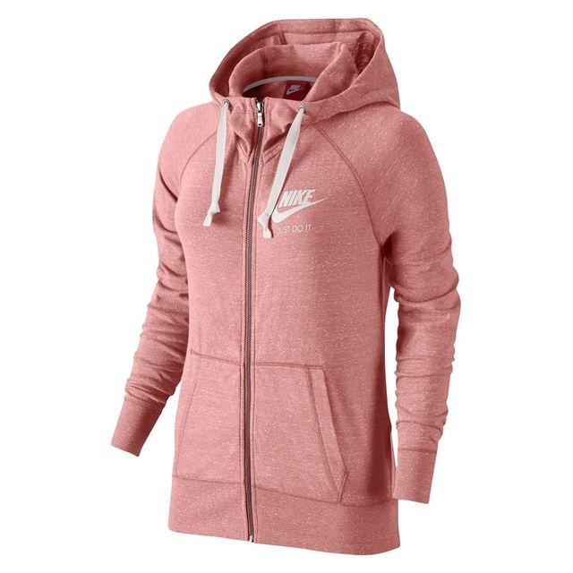 91a7578af113b Nike - Veste à capuche Gym Vintage - pas cher Achat / Vente Gilet ...