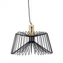 Autre - Lampe à suspension lustre lampadaire luminaire cuisine salon salle de bain métal noir industriel 2413008