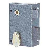 JPM - Serrure en applique à pêne dormant 1/2 tour - modele vertical - clé à chiffres SAS 147000-02-1A