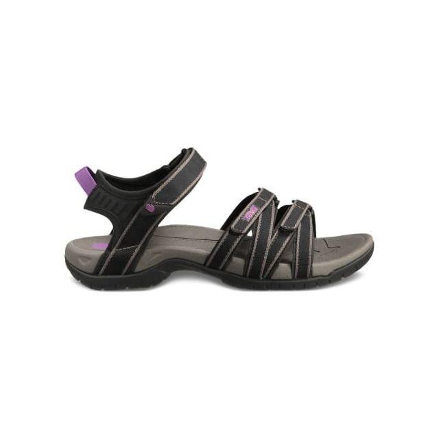 313115b172c Teva - Sandales Tirra noir gris femme - pas cher Achat   Vente Sandales de  marche - RueDuCommerce