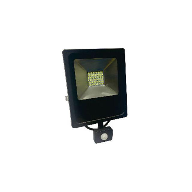 Girard Sudron   Isonoe  Projecteur Led Avec Détecteur De Présence Noir 30W  3000k
