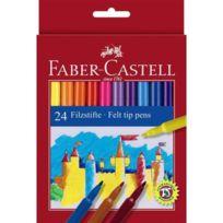Faber-Castell - 24 feutres scolaires Rainbow