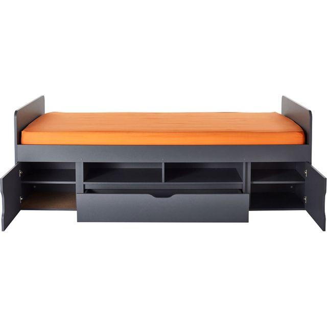lit cool alinea. Black Bedroom Furniture Sets. Home Design Ideas