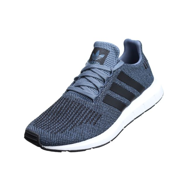 Adidas - Swift Run Cq2120 Bleu - pas cher Achat   Vente Baskets ... cfc545ff7d4c