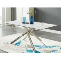 Table salle a manger en marbre - catalogue 2019 - [RueDuCommerce ...
