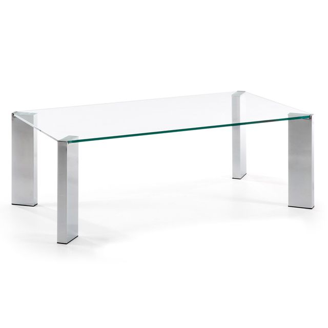 Kavehome Table basse Spot, transparent