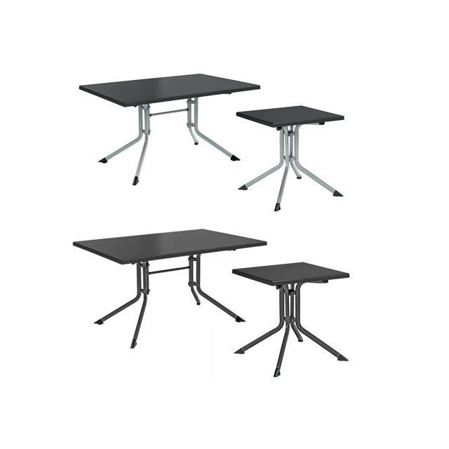 Kettler - Table de jardin pliante Topalit anthracite en ...