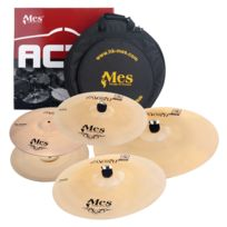 "Mes - Act Series Cymbales Perfomance Set 14"" Crash 14"" Hh / 16"" Crash / 20"" Ride / 18"" Crash"