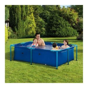 Carrefour kit piscine rectangulaire fidji l 1 53 x l 2 for Piscine carrefour tubulaire