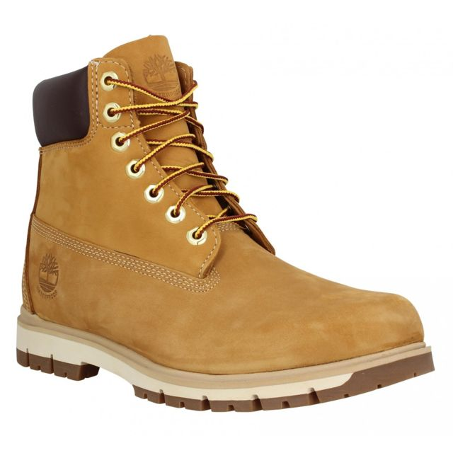 Timberland - Radford 6 Boot Wp nubuck Homme-39,5-Ocre - pas cher ... 3ad83a9ef411