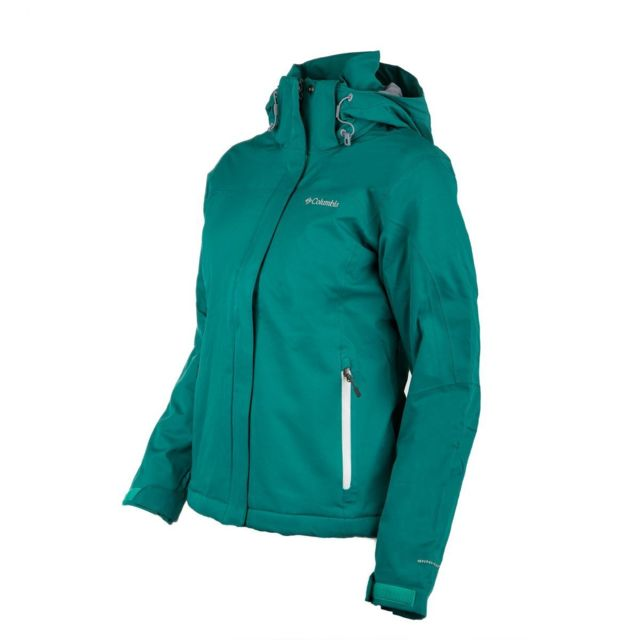 Veste ski Omni Heat Bleue Femme COLUMBIA